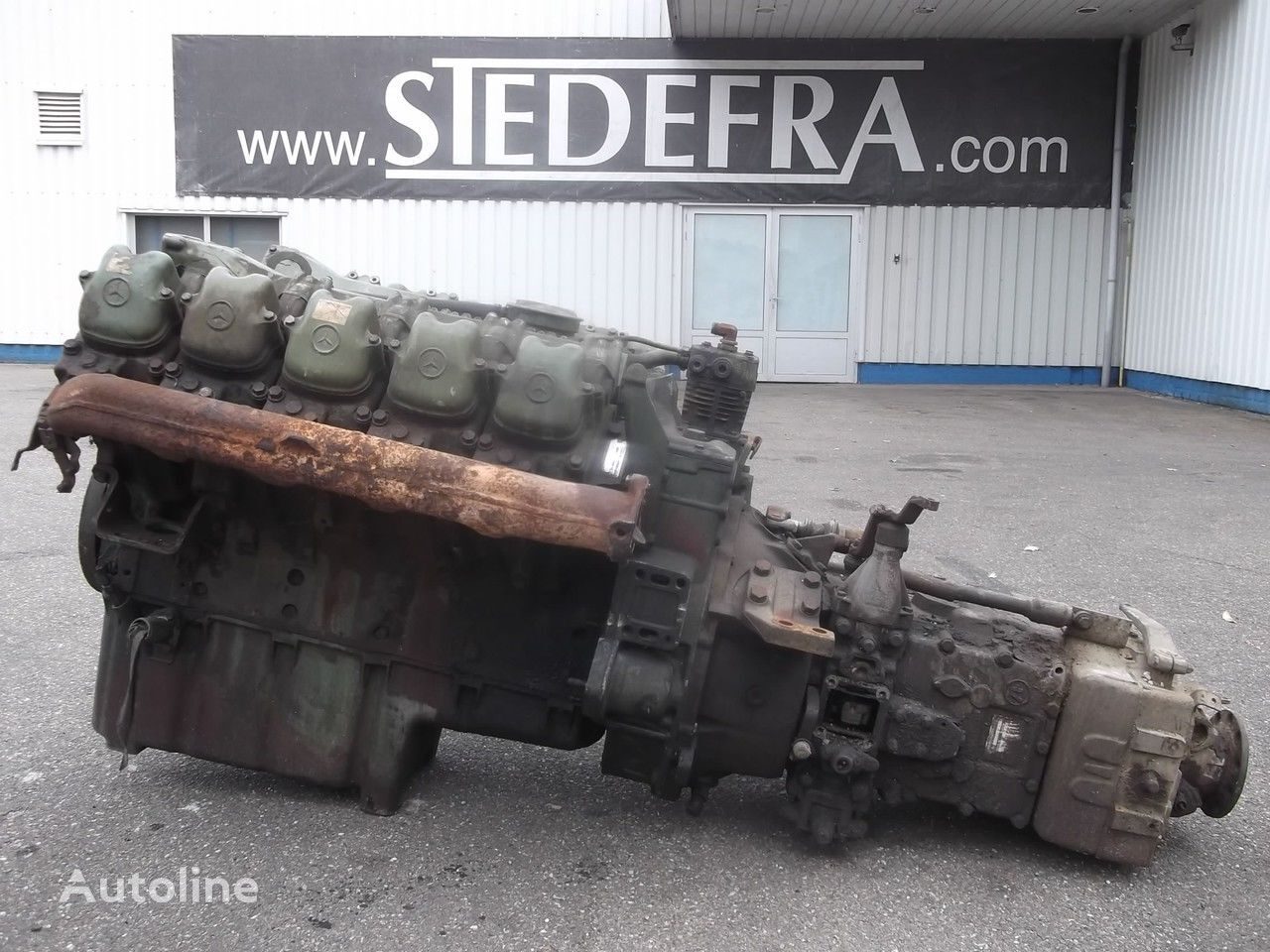moteur pour MERCEDES-BENZ OM 403 Engine V10 + ZF Gearbox,10 pieces in stock camion