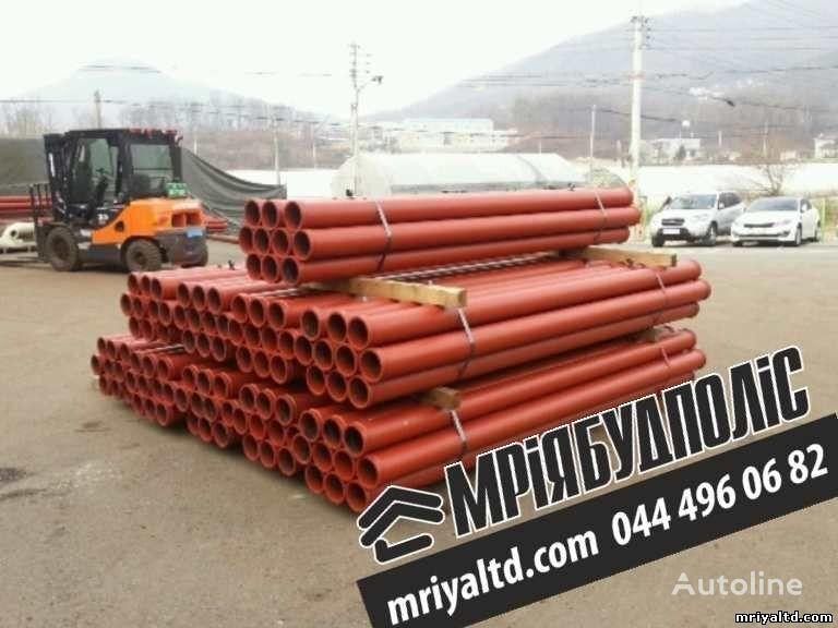 Truby (stalnoy betonovod) Truby dlya podachi betona, dlya betononasosa pièces de rechange pour pompe à béton neuf