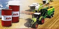 Universalnoe trasmissionnoe traktornoe i gidravlicheskoe maslo AVIA HYDROFLUID DLZ pièces de rechange pour tracteur