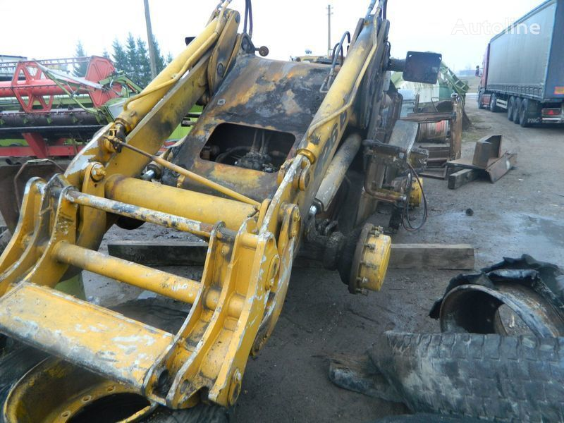 B/U ZAPChASTI/ used spare parts pièces de rechange pour JCB 426 chargeur sur pneus après accident