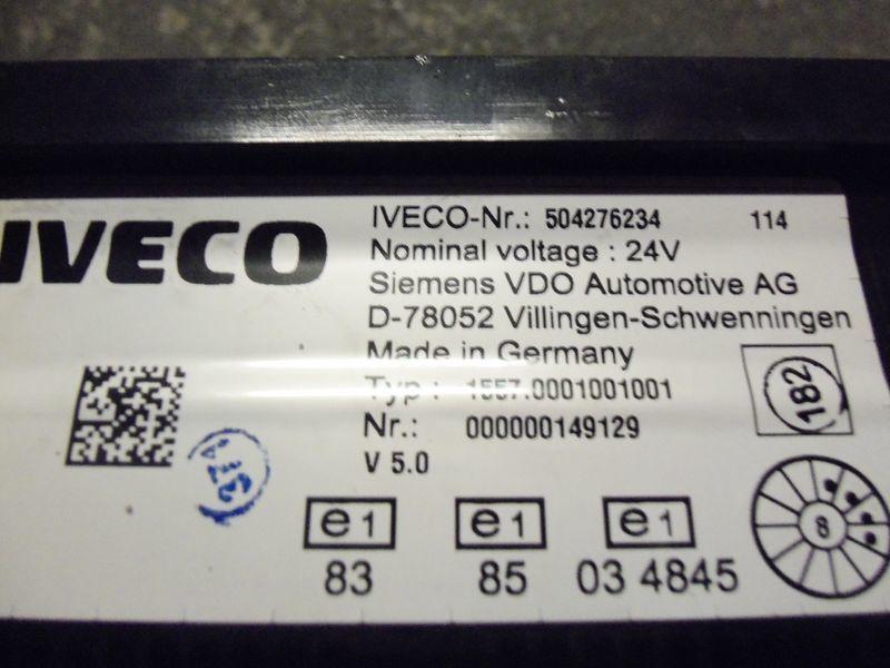 IVECO EURO5 instrument panel cluster 504276234, 504226363, 504025358, 504156164, 504156187 planche de bord pour IVECO Stralis tracteur routier