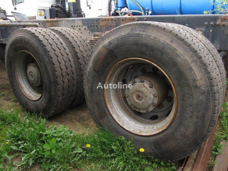 TYLNE MOSTY TANDEM, 2 X REAR DIFFERENTIAL MAN 8X4 8X8 pont pour MAN 35-414 F2000 8X4 camion