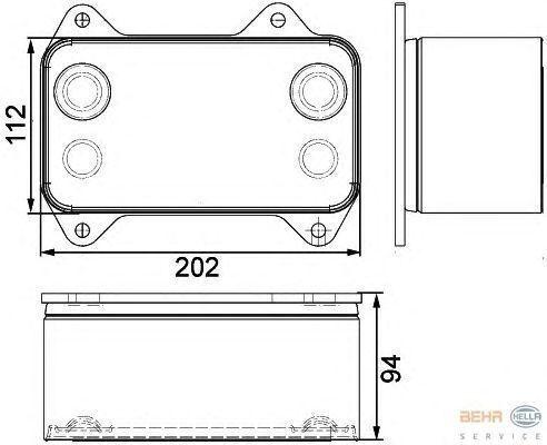 DAF 1667565.8MO376733421 radiateur de refroidissement pour DAF XF.CF tracteur routier neuf