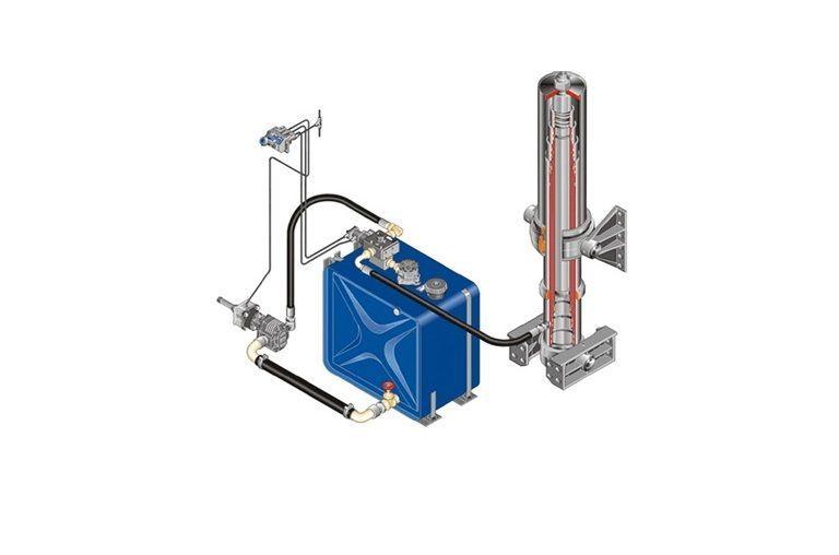 Komplekt gidravliki réservoir hydraulique pour MAN DAF/IVECO/RENAULT tracteur routier neuf