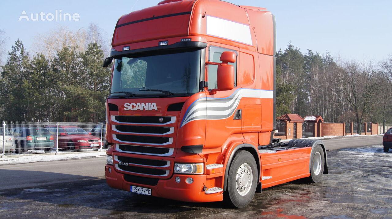 Multi-Plast zabudowy międzyosiowe  osłony aeropakiet między osiowe spoiler pour SCANIA R tracteur routier neuf