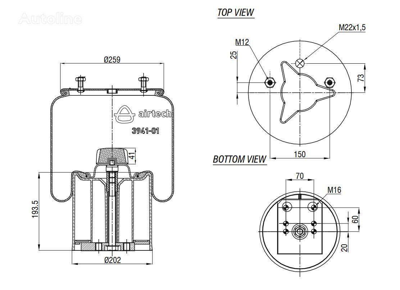 vente des 941 mb bpw suspensions pneumatiques pour semi remorque de l 39 ukraine acheter. Black Bedroom Furniture Sets. Home Design Ideas