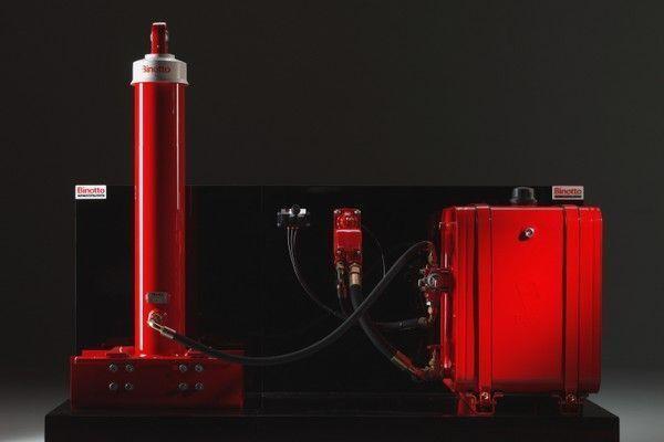 Binotto système du tombereau pour Binotto