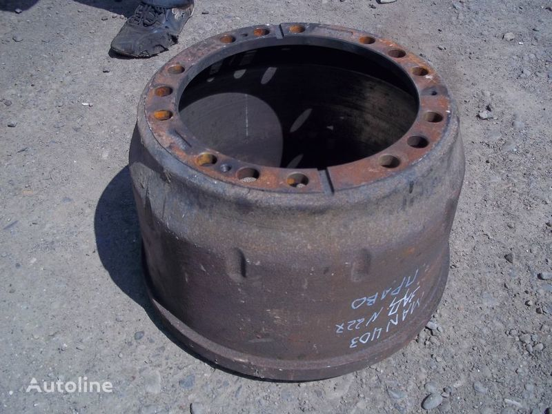 tambour de frein pour MAN F2000 camion