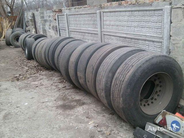 Michelin Bridgestone, Dunlop, Sava  385/65 R 22.50 pneu camion
