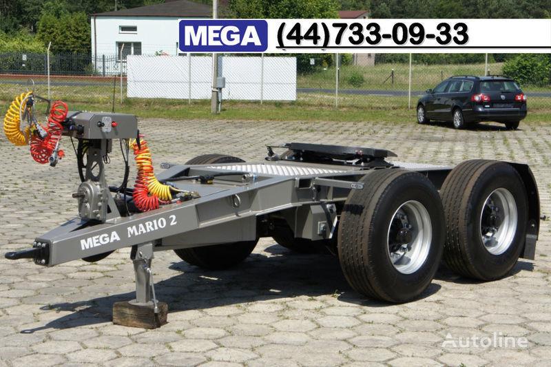 MEGA 2015 SALE !!! 2 Achsen Dolly fur Kipper mit Hydraulik - BEREIT ! remorque dolly neuf