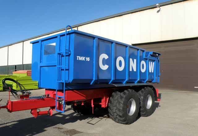 CONOW Tandem-Dreiseitenkipper (TMK 16) remorque transport de céréales neuf