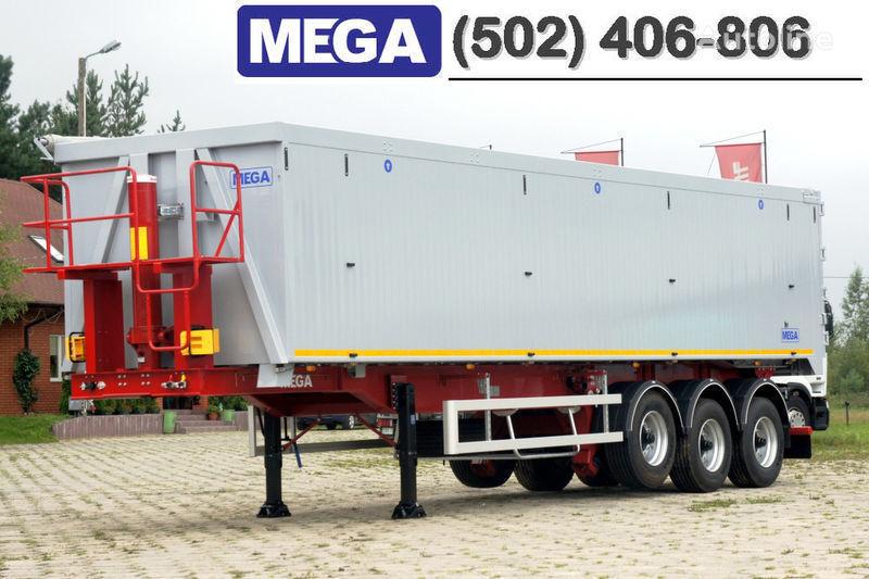 MEGA 50/11300 KD - camosval 50 kub., pama k tyagachu 6x4, VYSOTA 3,00 m Semi-remorque benne neuf