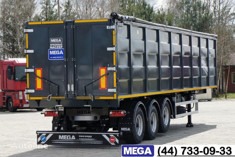 MEGA 55 M³ DOMEX/OPTIM 650 STEEL TIPPER / HATCH-DOOR & GRAINHOLES !! Semi-remorque benne neuf