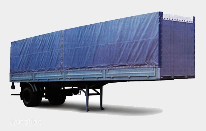 MAZ 938020 semi-remorque plateau neuf