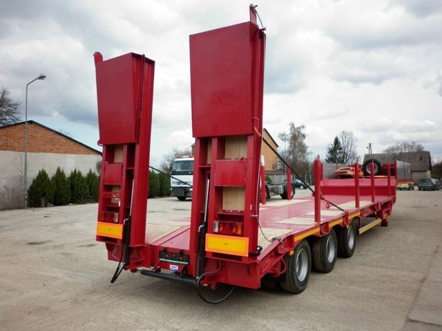JANMIL  WABCO with ramps 30000 kg  semi-remorque porte-engins neuf