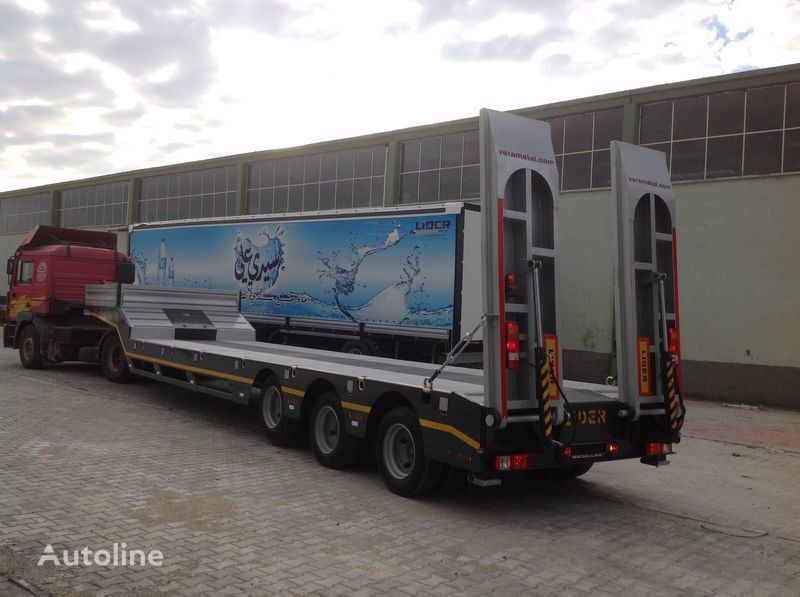 LIDER 2017 MODELS YEAR NEW LOWBED TRAILER FOR SALE semi-remorque porte-engins neuf