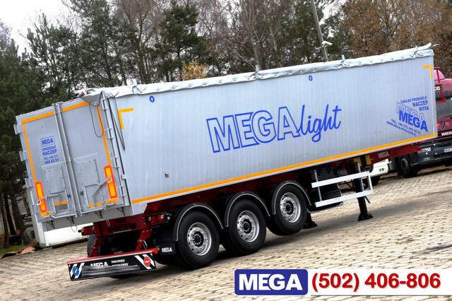 KARGOMIL 42 - 45 m³ Alubox - ULTRA - light only 5,800 kg weight ! READY T semi-remorque transport de céréales neuve
