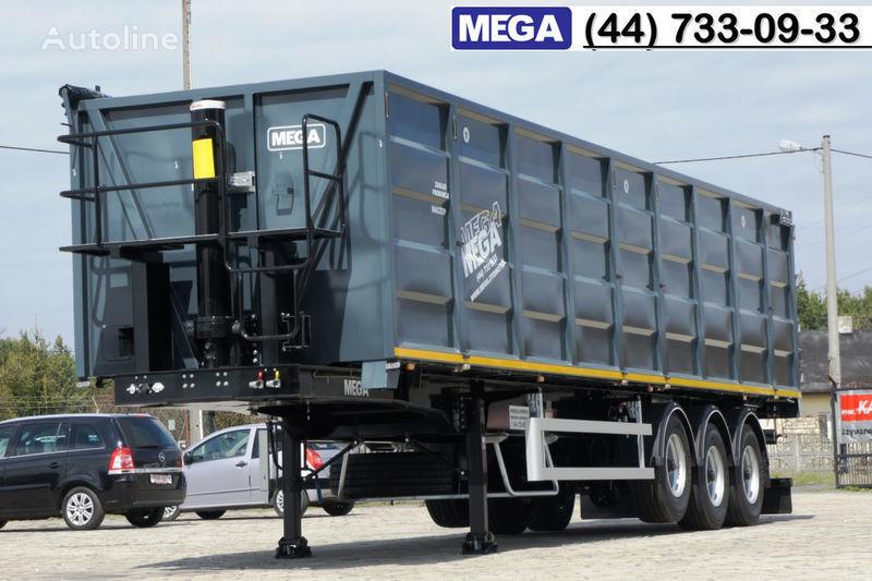 MEGA 11,4 m / V = 55 m³ ctalovyy kuzov klapan-dverey / Luk dla zerna! semi-remorque transport de céréales neuve