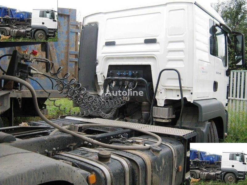 DAF SAMOSVALNAYa SISTEMA HYVA ( Gidravlika na tyagach ) tracteur routier
