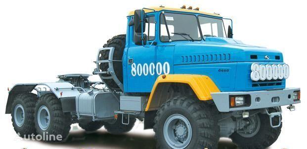 KRAZ 6446 tracteur routier