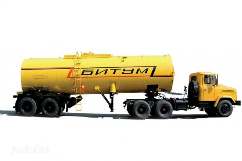KRAZ Avtobitumovozy 63431 AB-22 i 6443 AB-30,5  tracteur routier + citerne semi-remorque