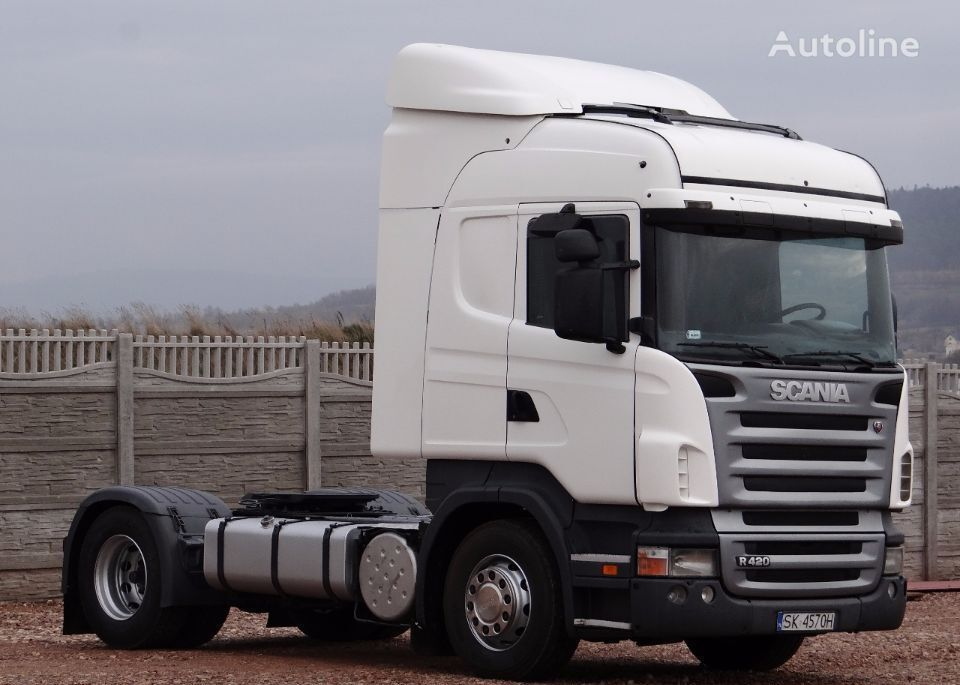 SCANIA R 420 / HIGHLINE / / OPTICRUISE + SPRZĘGŁO / tracteur routier