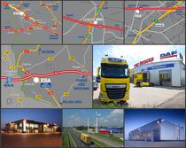 Surface de vente ESA Trucks Polska Sp. z o.o.