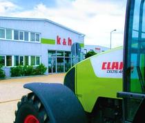 Surface de vente k&h Landmaschinenhandel