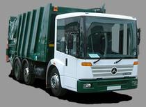 Surface de vente Refuse Trucks