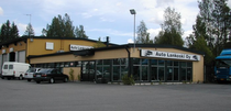 Surface de vente Auto Lankoski Oy