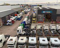 Surface de vente MD Trucks B.V.