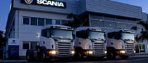 Surface de vente Scania Polska S.A.