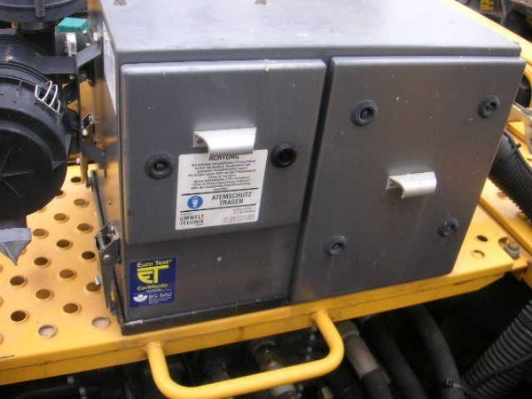 Onbekend Amberg (432)Schutzbelüft. / protective ventilation autre équipement
