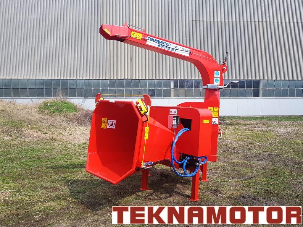 Vente des broyeur de branches teknamotor skorpion 250r for Vente de neuf