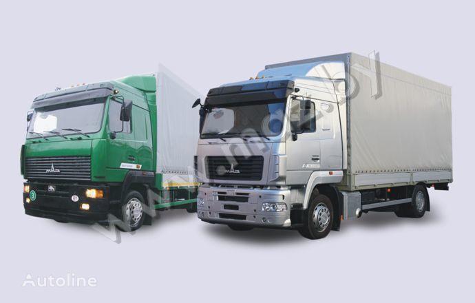 MAZ 5340 (19, E9) camion bâchée