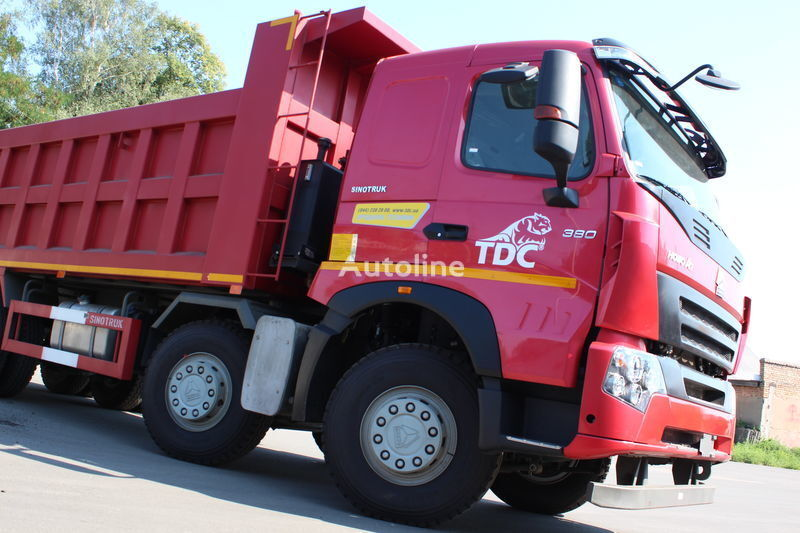 HOWO A7 camion benne