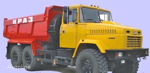 KRAZ 6133C6  camion benne neuf