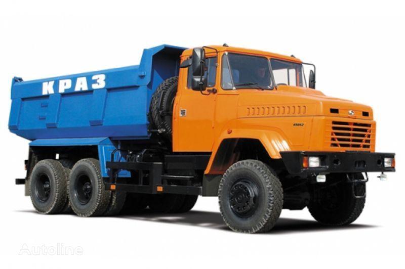 KRAZ 65032 tip 2  camion benne