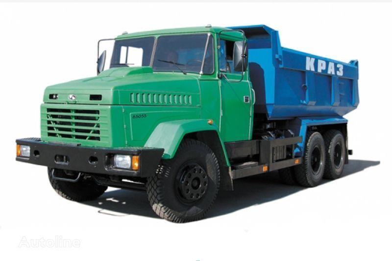 KRAZ 65055 tip 1  camion benne