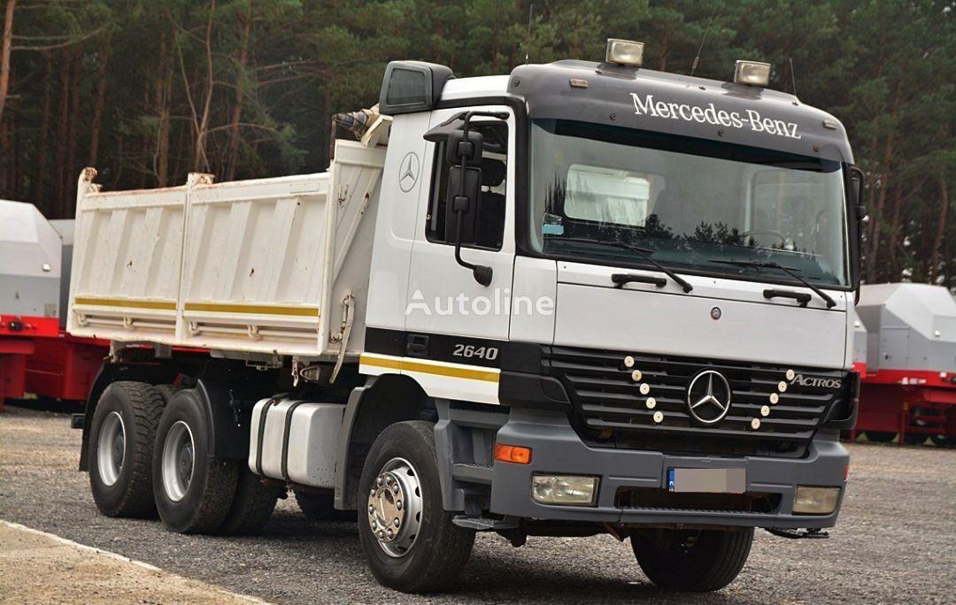MERCEDES-BENZ ACTROS 2640  camion benne