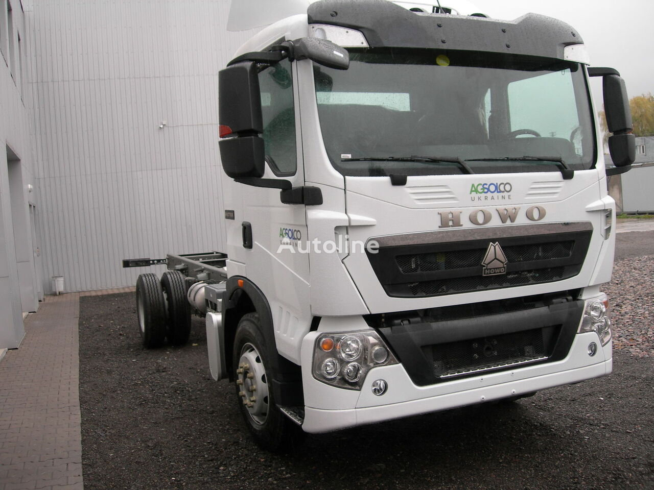 HOWO T5G camion châssis