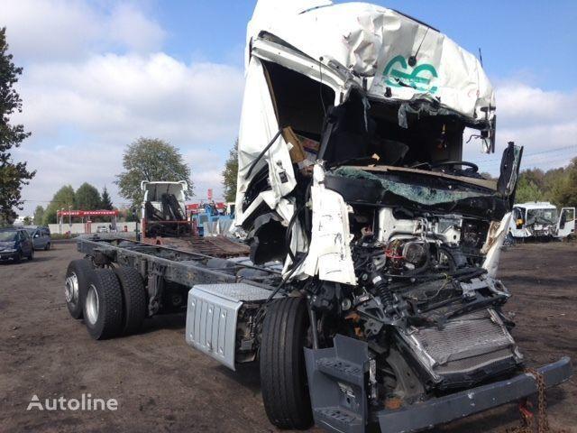 MERCEDES-BENZ Actros 2642  camion châssis après accident pour pièces de rechange