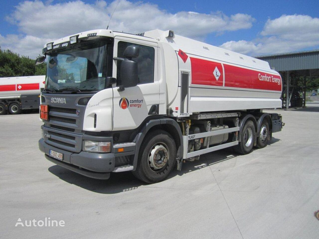 SCANIA camion de carburant