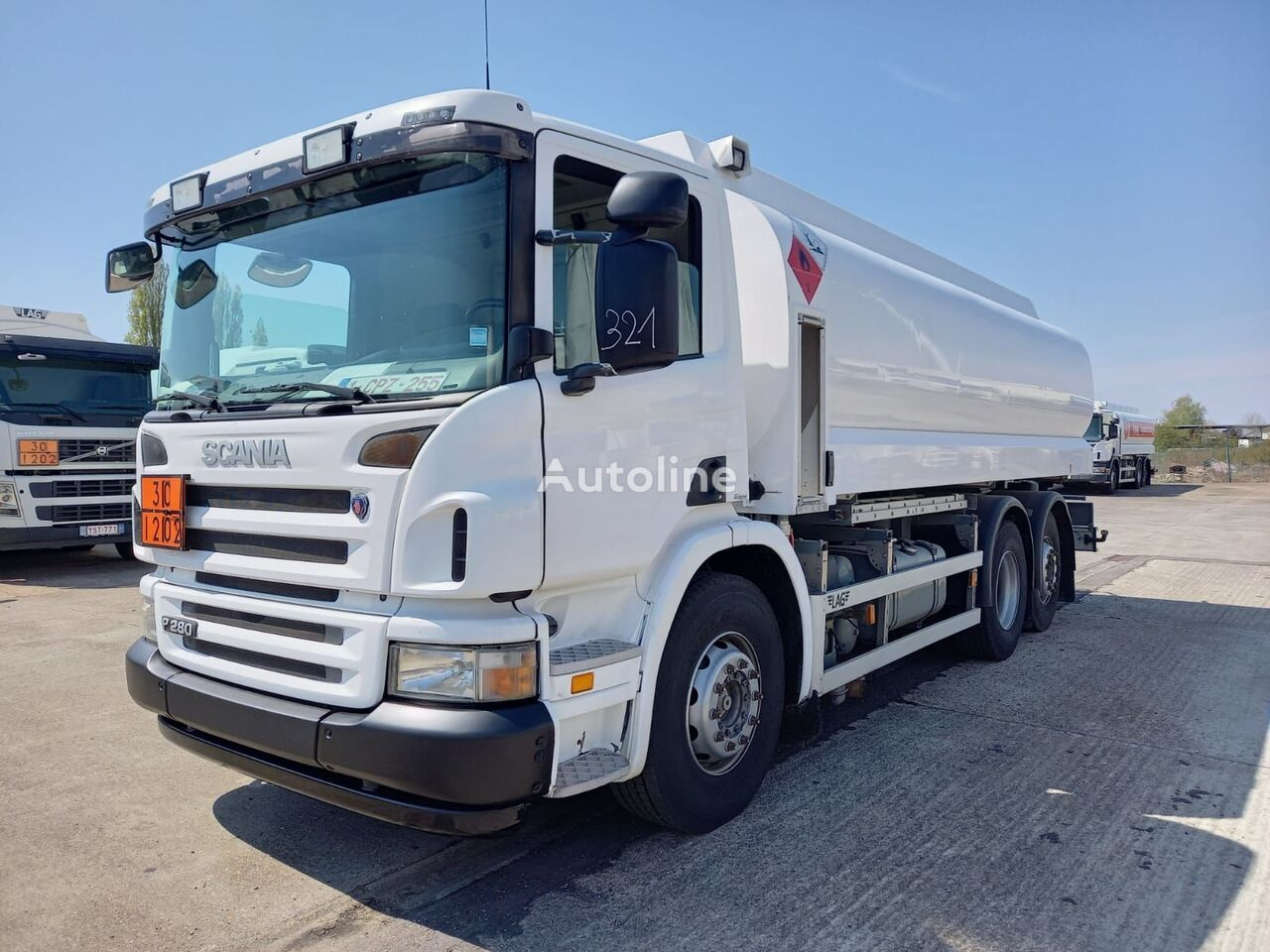 SCANIA camion de carburant