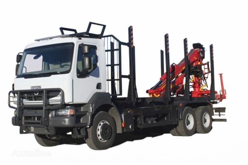 KRAZ M19.2R  camion forestier