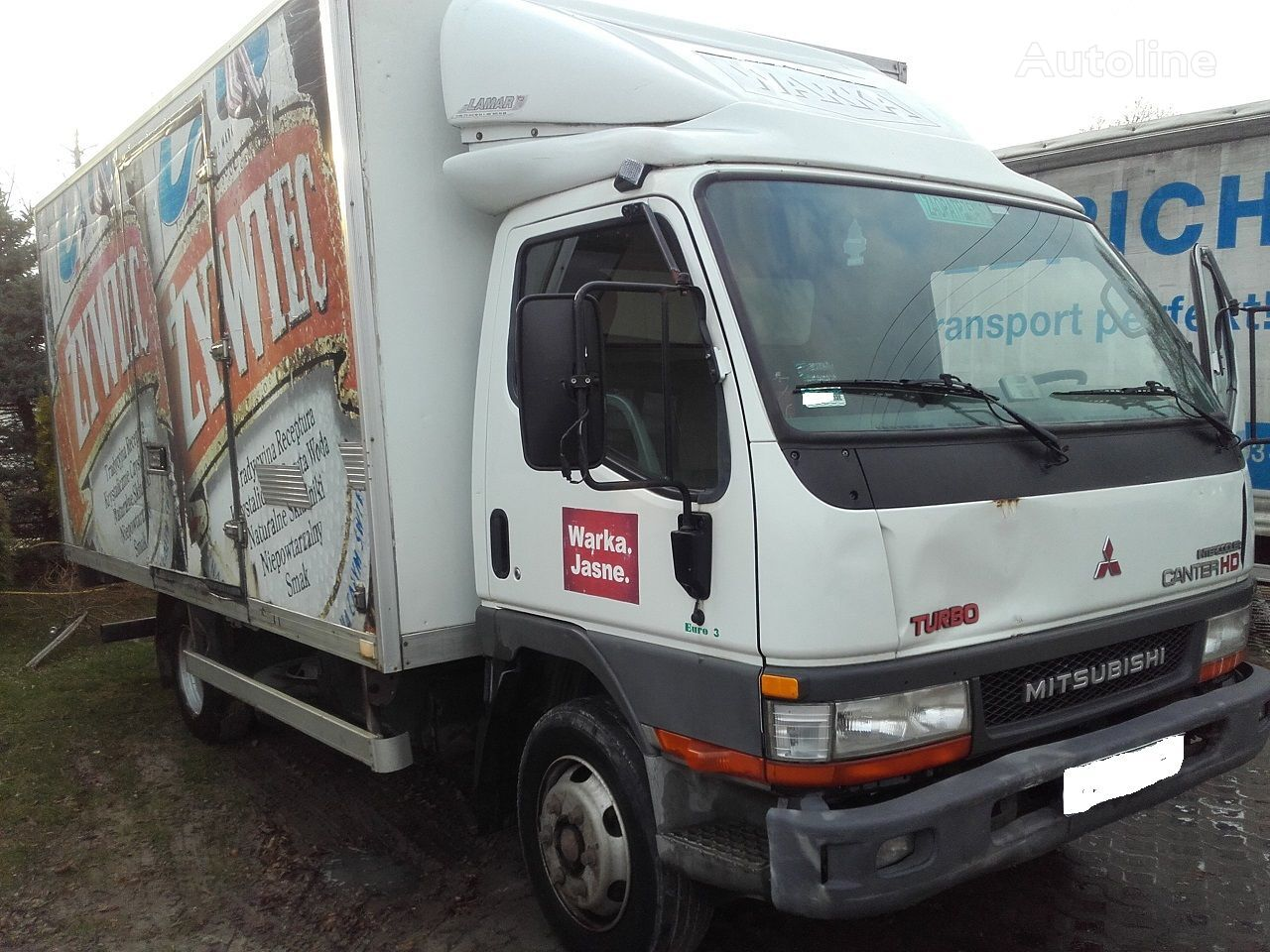 MITSUBISHI CANTER 3.9 HD camion fourgon