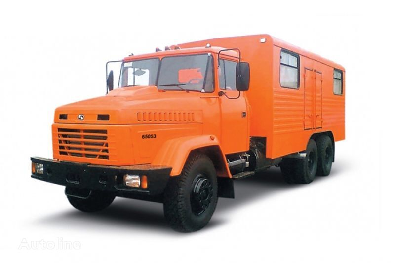 KRAZ 65053 masterskaya  camion militaire