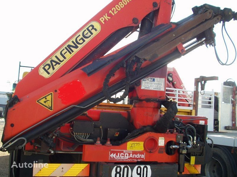 RENAULT KERAX 340 PALFINGER PK - 12080 camion plate-forme