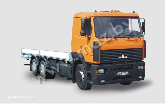 MAZ 6312 A5 camion plateau ridelles