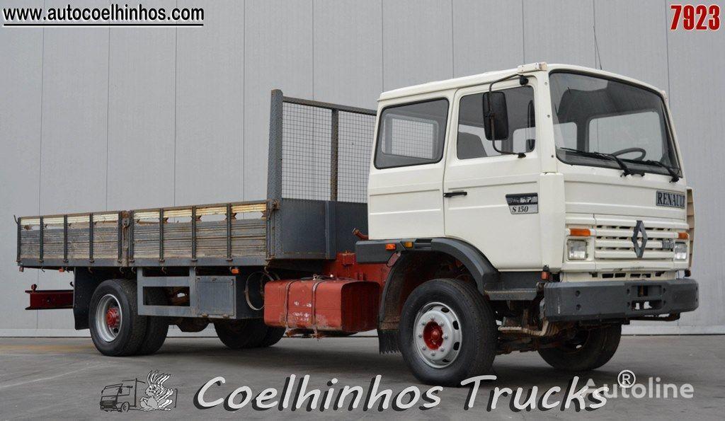 RENAULT S 150.13 camion plateau ridelles
